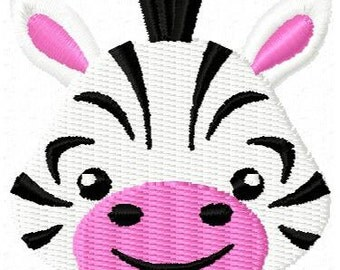Zebra Mini Embroidery Design