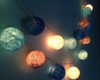 Popular items for bedroom light on etsy - Decorating with string lights indoors ...