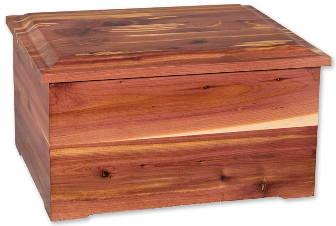 Cedar Companion Wood Cremation Urn