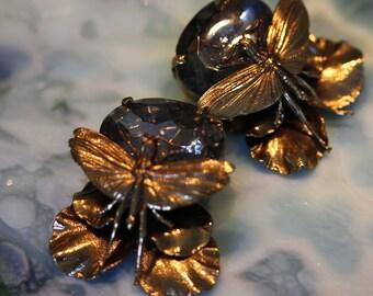 Dramatic Ermani Bulatti Insect Earrings