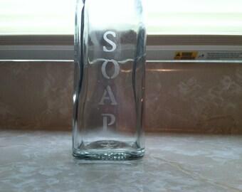 Custom olive oil bottle/dish soap dispenser