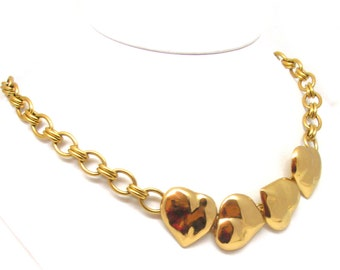 YVES ST LAURENT, glamor vintage necklace, circa 1970's