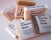 Sudsy Six-Pack Sample Soap Set (vegan . organic . palm oil free)