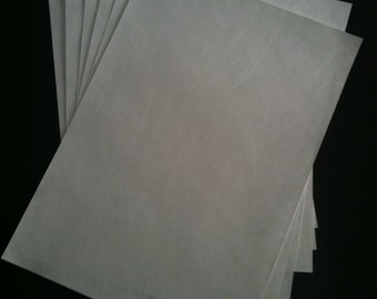10 x Coated Tyvek 100gm Sheets | Print with household InkJet Printer without run/smudge