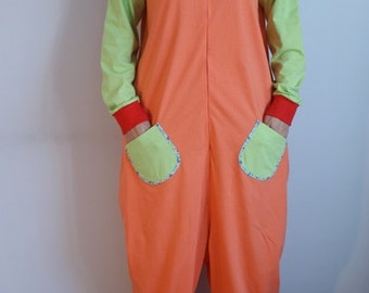 Funny Adult Pajamas All in One Pyjamas One Piecefrom 100% cotton