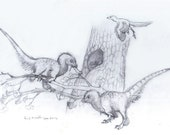 Mei Sketches: Original Pencil Drawing