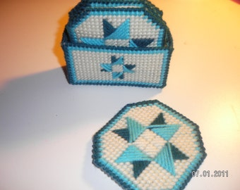 Eight Pointed Star Coasters