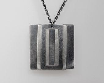 Three Layers Pendant Necklace