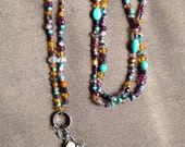 Not Your Average Beaded ID Lanyard