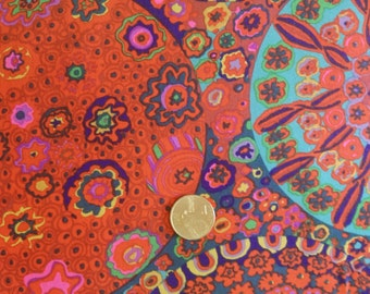 MILLEFIORE in RED by Kaffe Fassett for Westminster