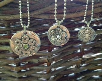Flower Power Charms - 3 Sizes