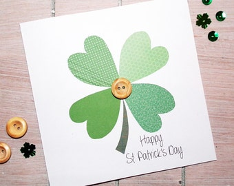 Luck Of The Irish St. Patrick's Day Card