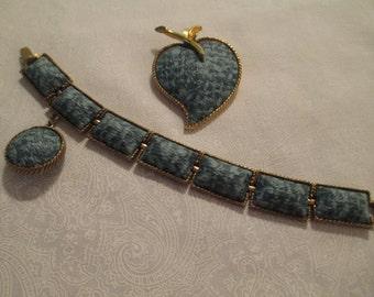 Vintage Bracelet and Brooch Set
