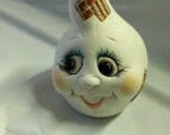 Ceramic Ghost Noggin