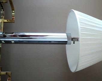 SALE!!! Modernist Chrome Lamp