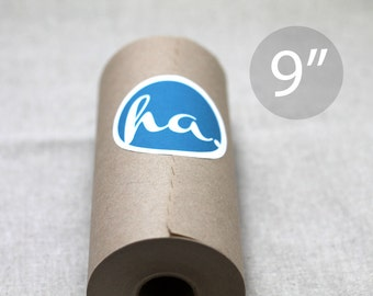 "9"" Kraft Wrapping Paper Roll - 180 feet (60 yards) – Lightweight"
