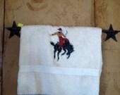 Towel Holder-Star, Rustic...