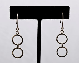 Geo16 - Earrings - Sterling Silver