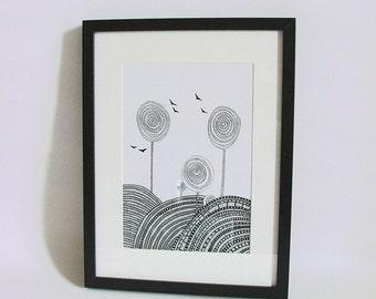 Landscape 1 - hihg quality print