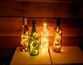 Lighted Wine Bottle Accent Lights