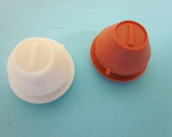 Rubber Stopper Plugs for Salt or Pepper Shakers & Piggy Banks. Made in the USA