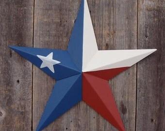 72 Inch Painted Galvanized Heavy Duty Metal Amish Tin Barn Star