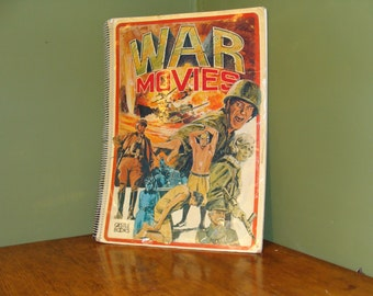 WAR  MOVIES book by castle books 1974