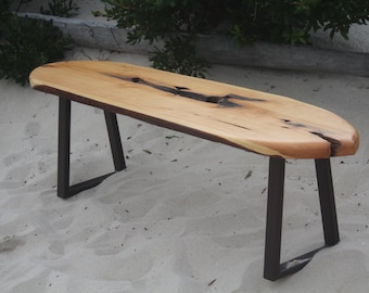 Items Similar To Surfers Bench Pallet Wood Bench With