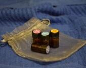 Set of Four Essential Oil Samples