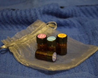 Set of Four Essential Oil Samples