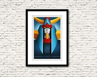 Raydeen Shogun Warrior Poster Collection Print 16x24
