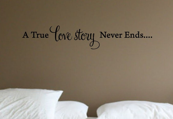 A True Love Story Never Ends Quote: Unavailable Listing On Etsy