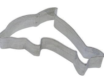 "4.5"" Dolphin Cookie Cutter zoo safari jungle Wedding Shower birthday party treats aquatic 1270"
