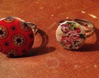 Button and Bead Rings