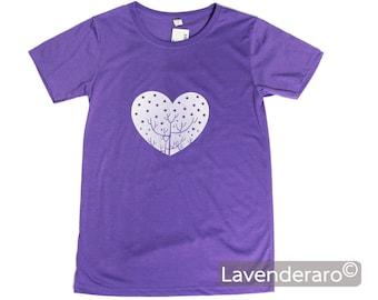 Heart tshirt silk screened tee shirts silk screen t for Silk screen t shirt