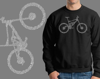 Bicycle Parts Sweater BMX Biker Bike Jersey Sweatshirt