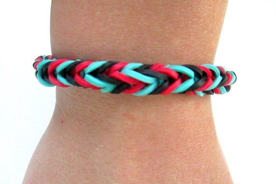 how to make bracelets with rubber bands fishtail