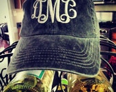 Monogrammed Hat- the PERFECT Preppy Accessory! So many color choices :)