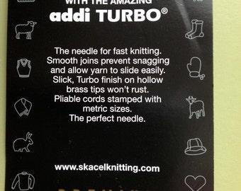 "addi turbo - 40"" length - various sizes"