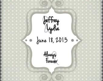 Wedding Poster (Guest Book)