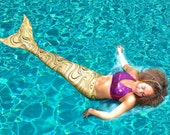 Swimable/Walkable Mermaid Tail with Monofin