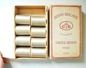 Vintage Cotton Thread / Wooden Spools