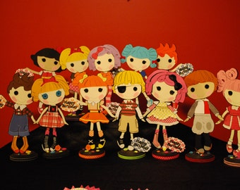 LALALOOPSY CENTERPIECES