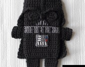 PDF PATTERN - Darth Vader - Star Wars - iPhone 5 and 6 crochet case (cozy, sleeve, cover)