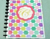 Hexagon Life In Positudiness Planner -  Junior Size (5.5 x 8.5)