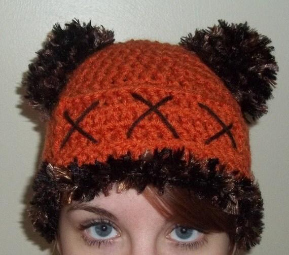 Ewok Hat: Items Similar To Hand Crochet Ewok Inspired Hat. Unisex
