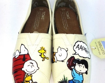 Customize Charlie Brown Toms
