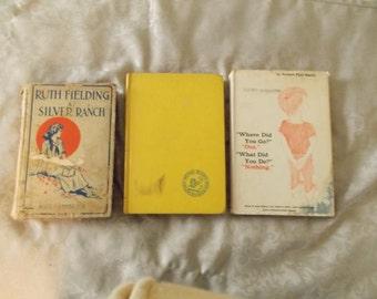 Vintage Children's Book Trio