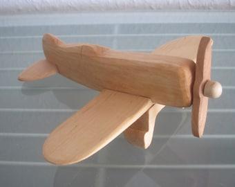 Gee Bee airplane flier vintage wood handmade