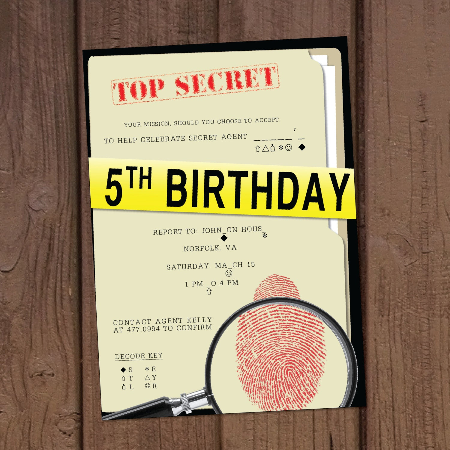 image relating to Spy Party Invitations Printable Free referred to as Magic formula Representative Birthday Occasion Invites Spy Bash Options